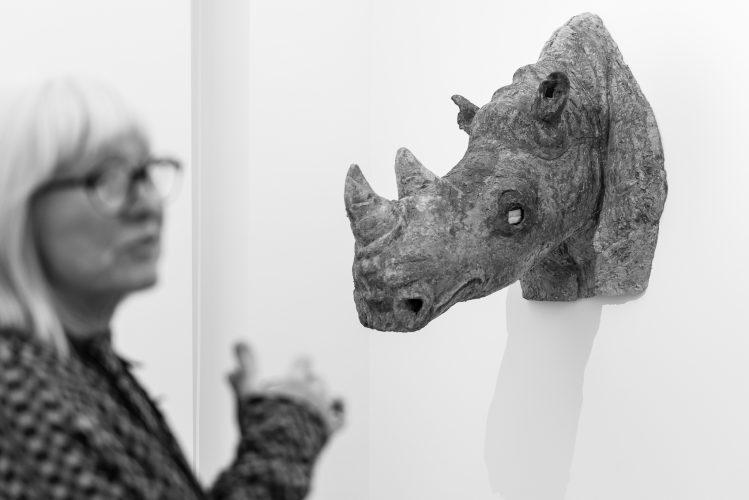 Margot Pilz - Cyber Knowledge - MUSA - Vienna - Photo by Helmut Prochart