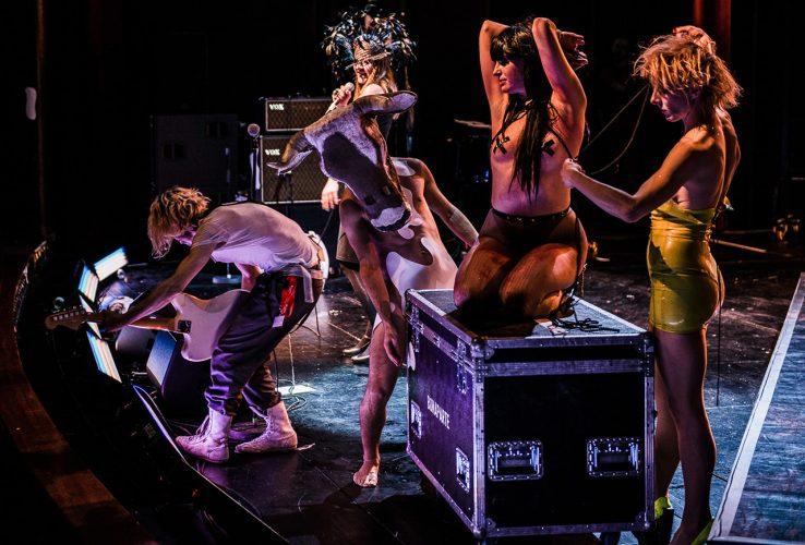 Bonaparte - Brecht Festival Augsburg - Photo by Helmut Prochart
