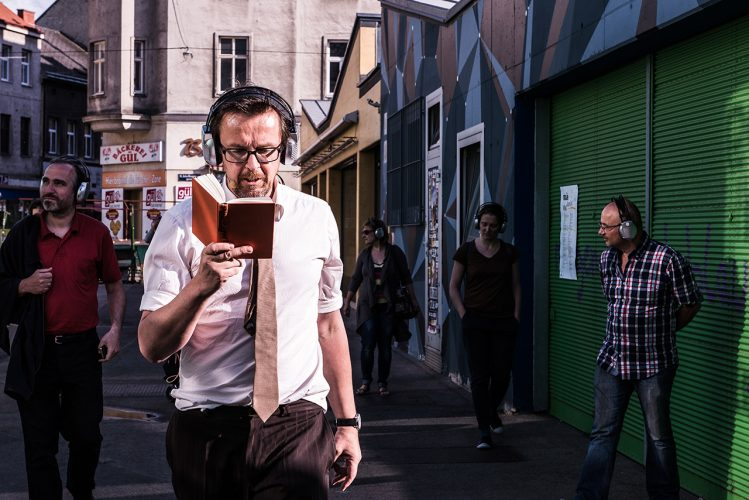 Manfred Rebhandl - Walking Fiction - Photo by Helmut Prochart